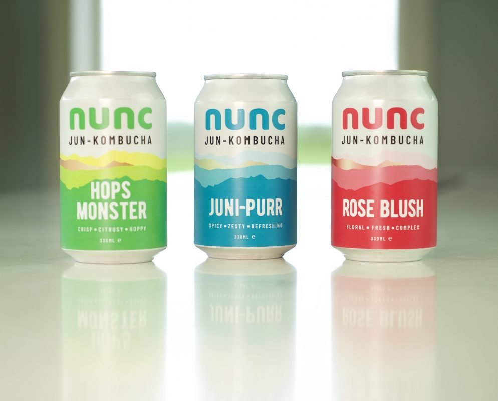 Our jun Booch is made with raw honey, green tea and botanicals