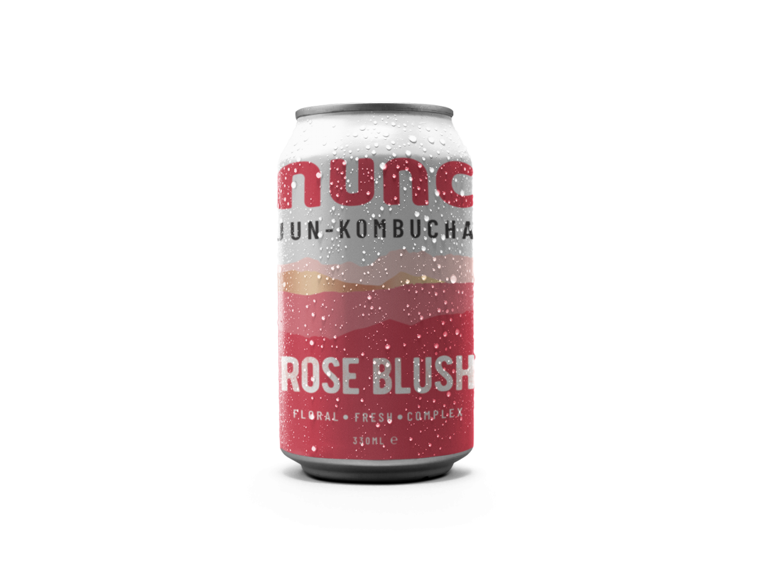 Nunc's Rose Blush is made using raw Buckinghamshire honey, delicious organic Darjeeling green tea, infused with premium botanicals and delicious rose petals and hibiscus flowers.