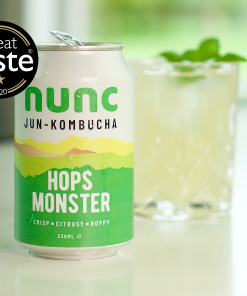 Tasty and healthy Jun-Kombucha. Great for your gut