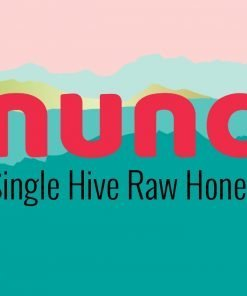 Nunc's own single hive raw honey